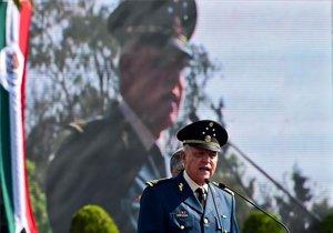 Salvador Cienfuegos, exministro de Defensa de México.