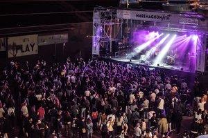 El Maremagnum se viste de fiesta para acoger grandes conciertos.