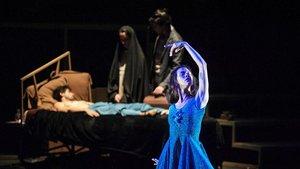 Un momento del espectáculo del Ballet del Sodre, dirigido por Igor Yebra.
