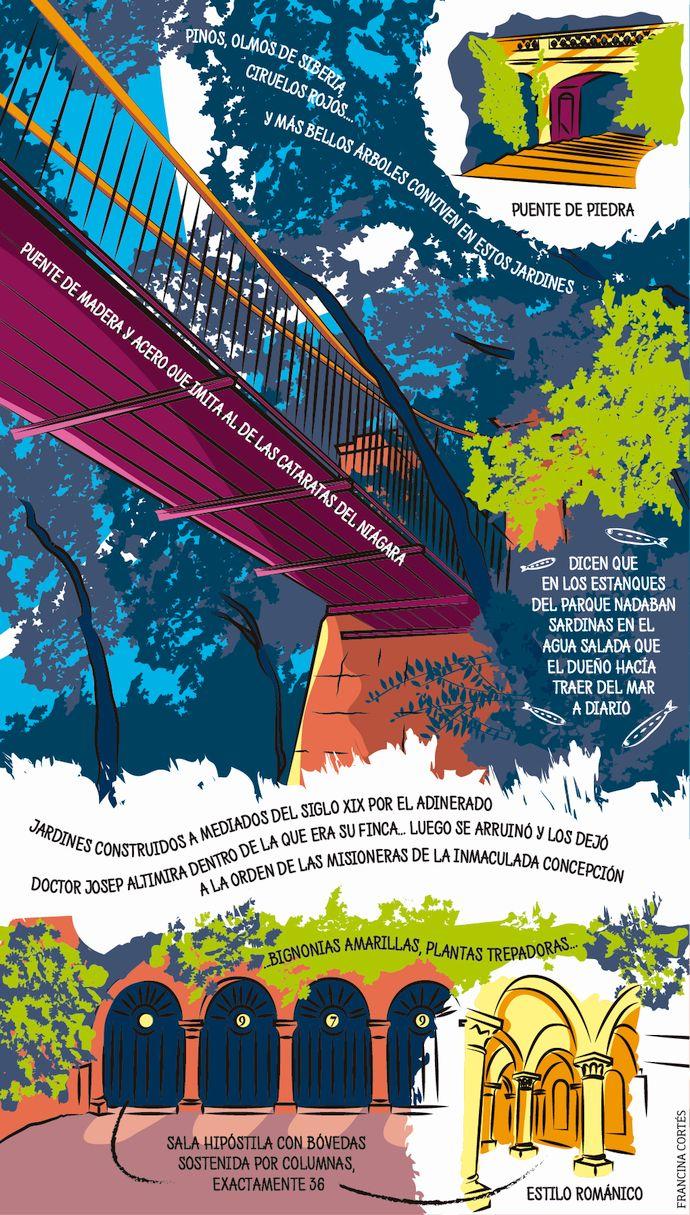 Jardines de Ca n'Altimira: no aptos para bicis urbanas