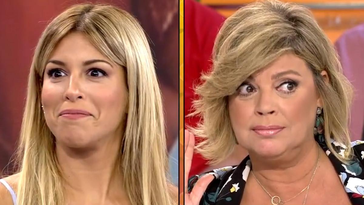 Oriana Marzoli y Terelu Campos.