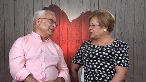 Paco y Eloisa en 'First Dates'.