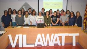 Participantes del espacio Vilawatt Escuelas