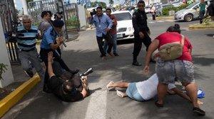 La Comisión Interamericana de Derechos Humanos (CIDH) ha condenado el hostigamiento policial contra los periodistas y reporteros gráficos.