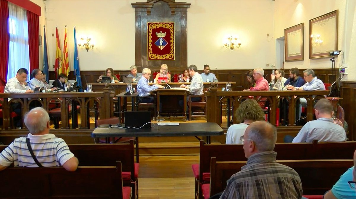 Pleno del Ayuntamiento de Esplugues.