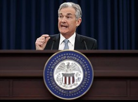 El presidente de la Reserva Federal estadounidense, Jerome Powell.