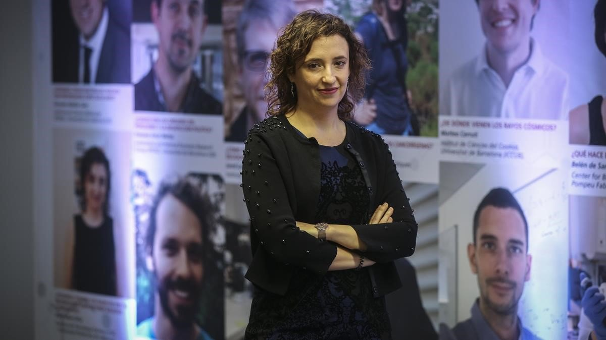 """Rosa Adam Ortiz: """"Podem convertir el CO2 de rebuig en recurs"""""""