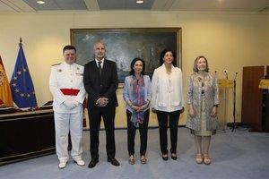 Robles confirma la cúpula de Defensa, incloent-hi els caps militars i la cap de gabinet que va sonar per al CNI