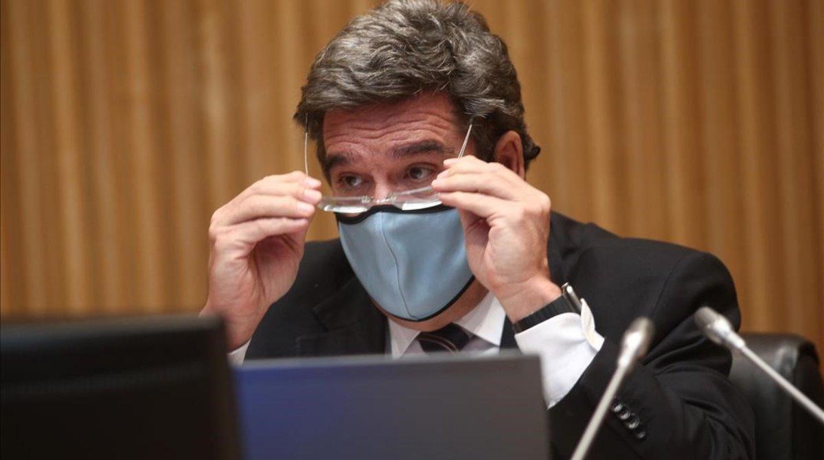 El ministro de Inclusión, Seguridad Social y Migraciones, José Luis Escrivá.