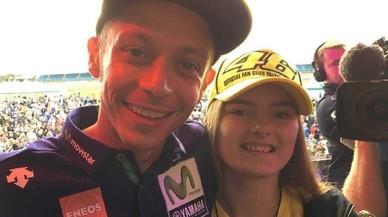Paguen 3.500 euros per un 'selfie' amb Valentino Rossi