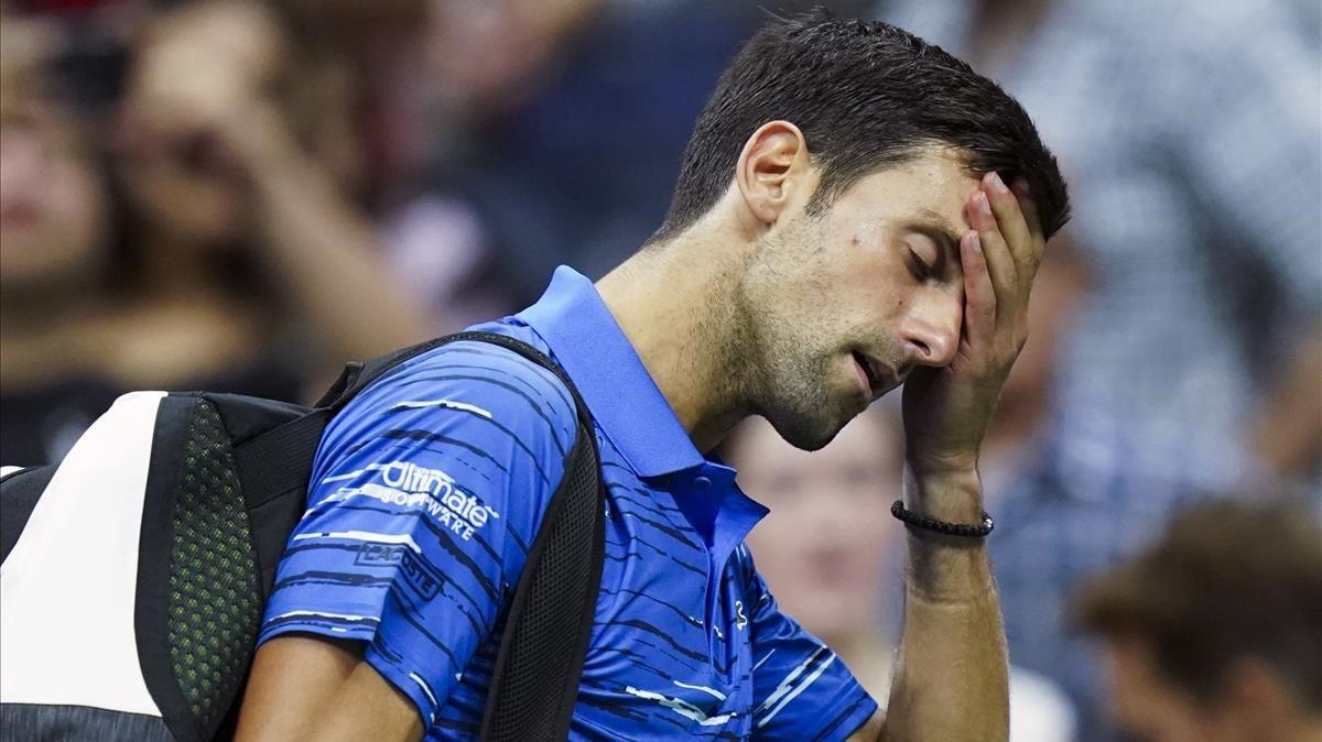 Djokovic cedeix el pas