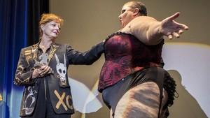 Sarandon, en la ceremonia de entrega del Gran Premi Honorífic del Festival de Sitges