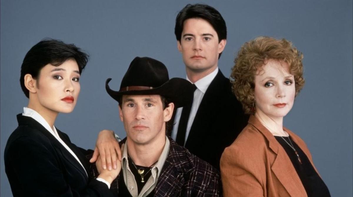 Parte del elenco protagonista de la serie original Twin Peaks.
