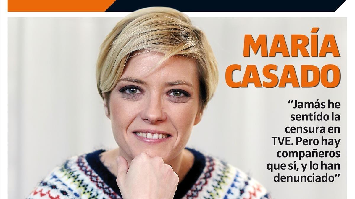 María Casado, el rostro amable de TVE