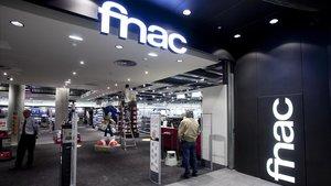 Tienda Fnac en el Centro Comercial las Arenas de Barcelona.