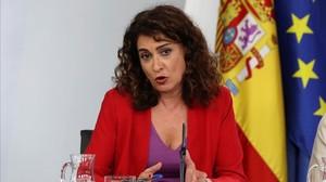 """Montero defensa la possibilitat d'""""explorar"""" un govern de coalició amb Podem"""
