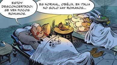Astérix viaja a una Italia que Julio César quiere unida