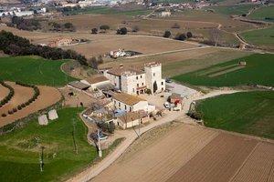 Vista aérea de Torre de Malla de Parets.