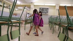 Vuelta al cole en la Escuela Bogatell