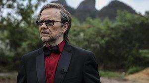 Santiago Segura, en el rodaje de la nueva serie de Cuatro 'Supermax'.