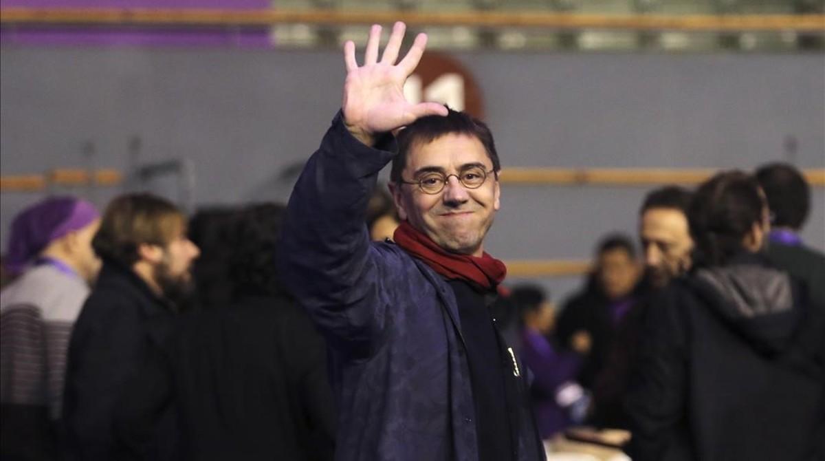 Monedero acusa Errejón de trencar Podem per «les clavegueres» de l'Estat
