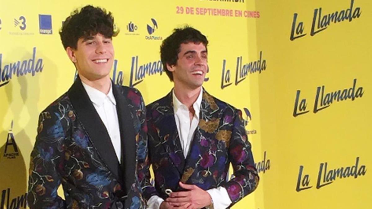 Javier Calvo y Javier Ambrossi.