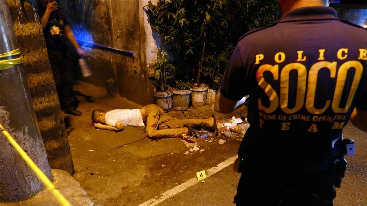 Dol sense fi al raval de Manila