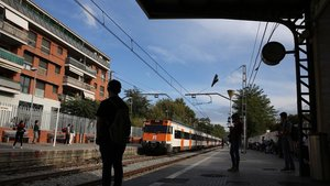 Estación de Cerdanyola del Vallès de Rodalies.