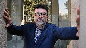 Joan Josep Nuet, en el Parlament.