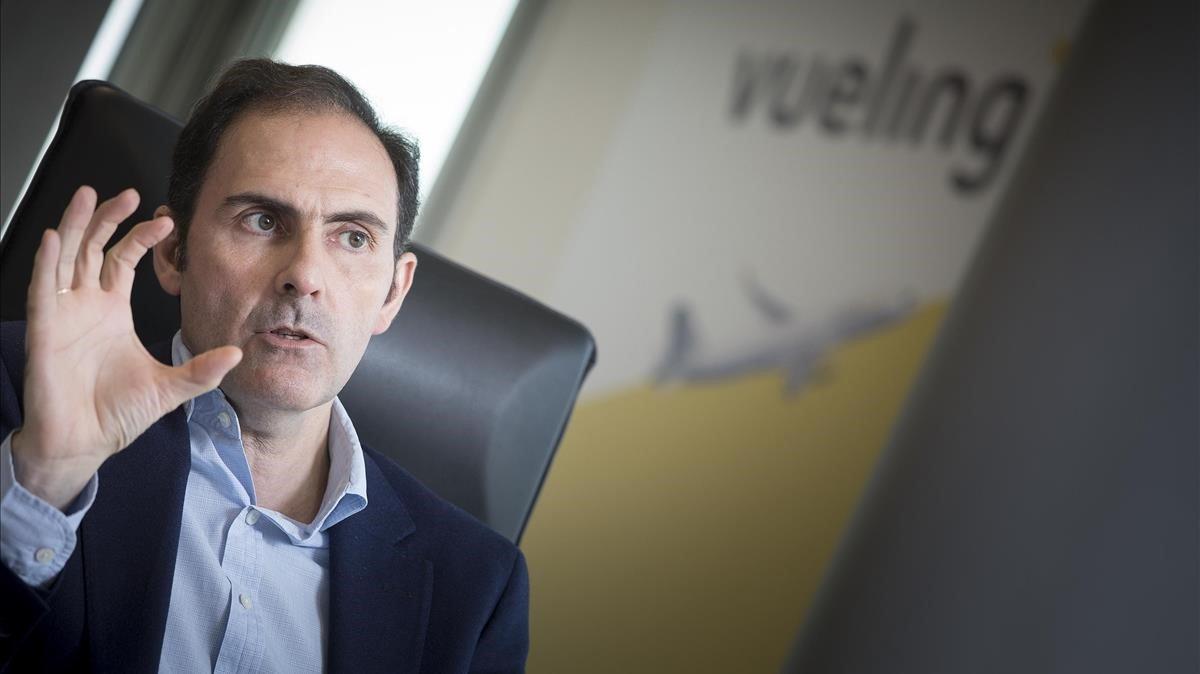 """Sánchez-Prieto: """"El verano será mejor para los pasajeros de Vueling"""""""