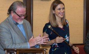 Núria Parlon, investida alcaldessa de Santa Coloma de Gramenet per tercera vegada consecutiva