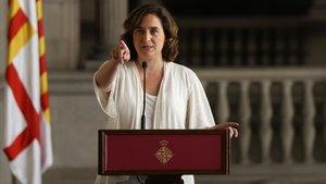 Colau suspèn el ple extraordinari de l'Ajuntament de Barcelona sobre la sentència del procés