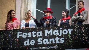 Toni Rovira dona el tret de sortida a les festes de Sants