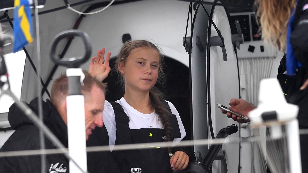 L'odissea de Greta Thunberg cap a la Cimera del Clima
