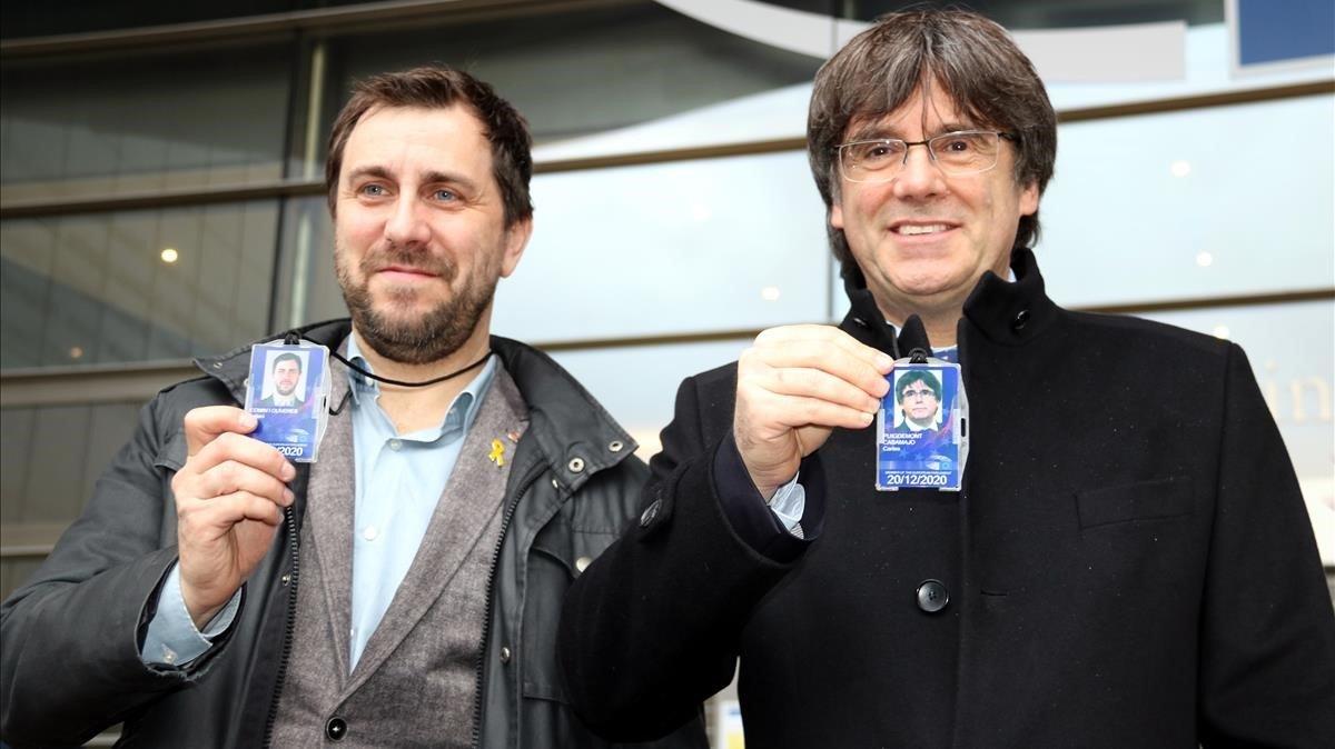 La nova vida de Puigdemont com a eurodiputat