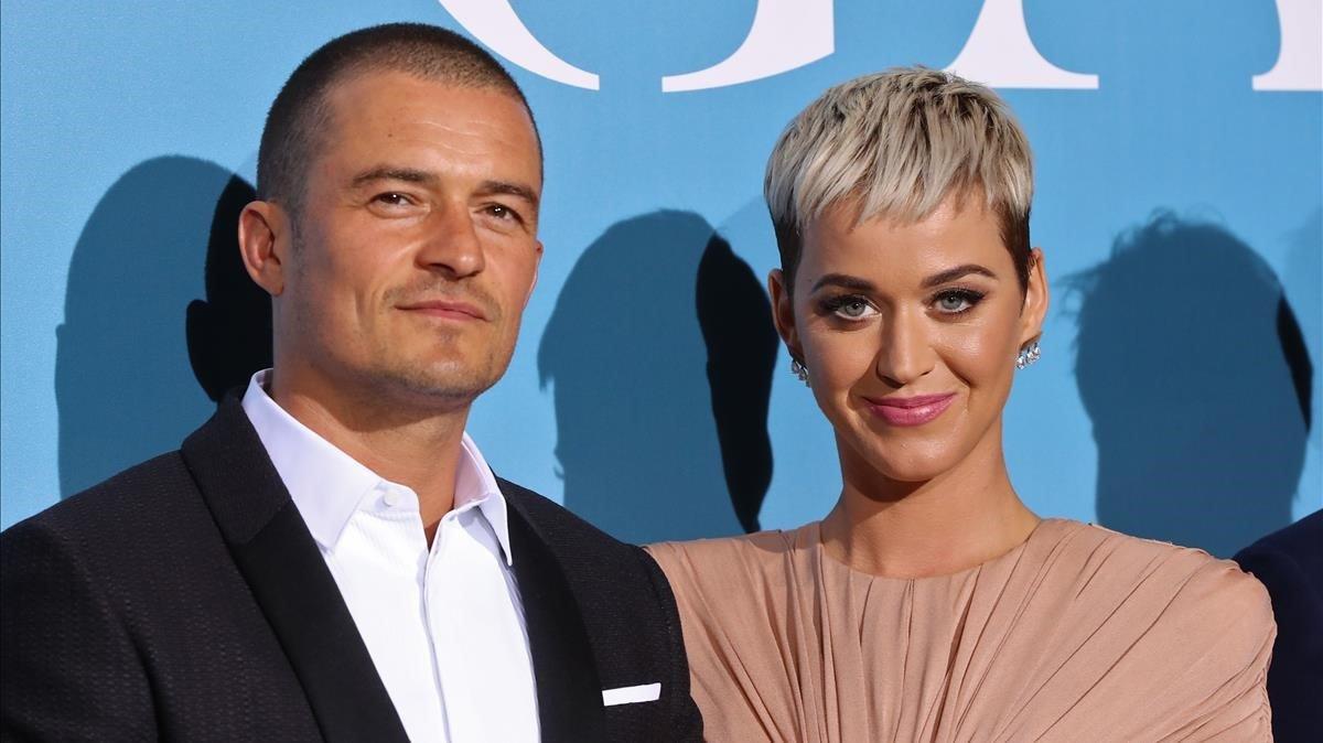 Orlando Bloom y Katy Perry.
