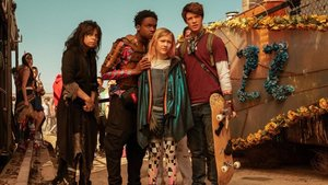 Cuatro de los protagonistas de la postapocalíptica 'Daybreak'.