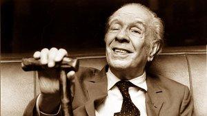 El escritor argentino Jorge Luis Borges.