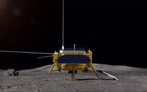 Imagen de la sonda que China envía a explorar la cara oculta de la luna.