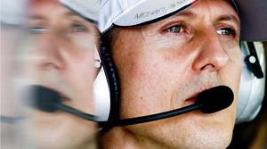 Michael Schumacher, al circuit Albert Park durant el GP de F-1 de Melbourne (Austràlia), el 16 de març del 2012