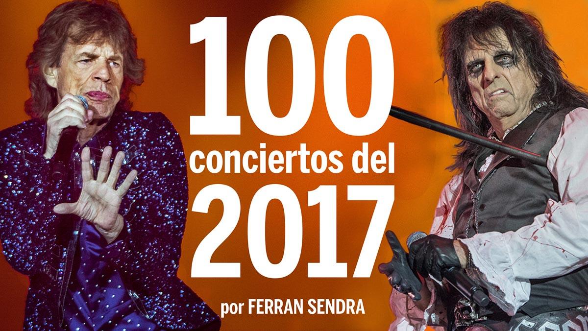 100 conciertos del 2017
