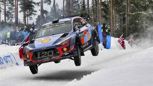 Thierry Neuville ganó el Rally de Suecia
