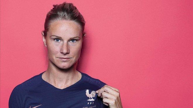 Amandine Henry, una de las mejores jugadores de la Copa Mundial femenina 2019