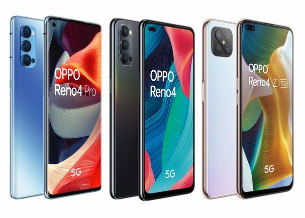 Oppo presenta la serie Reno4, compatible con redes 5G