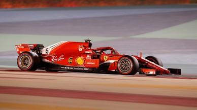 Vettel torna a superar Mercedes a Bahrain