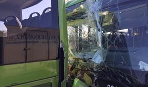Un accidente entre dos autobuses deja 19 atendidos en plena A-6 de Madrid
