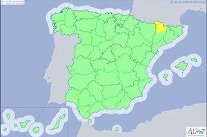 Este es el pronóstico del clima para toda España.