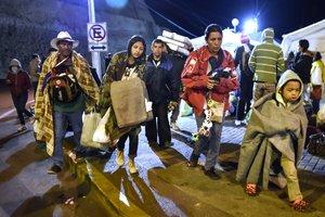 Ecuador ha habilitado ya un corredor humanitario entre Rumichaca y Huaquillas para facilitar que los venezolanos puedan pasar a tiempo hasta Perú.