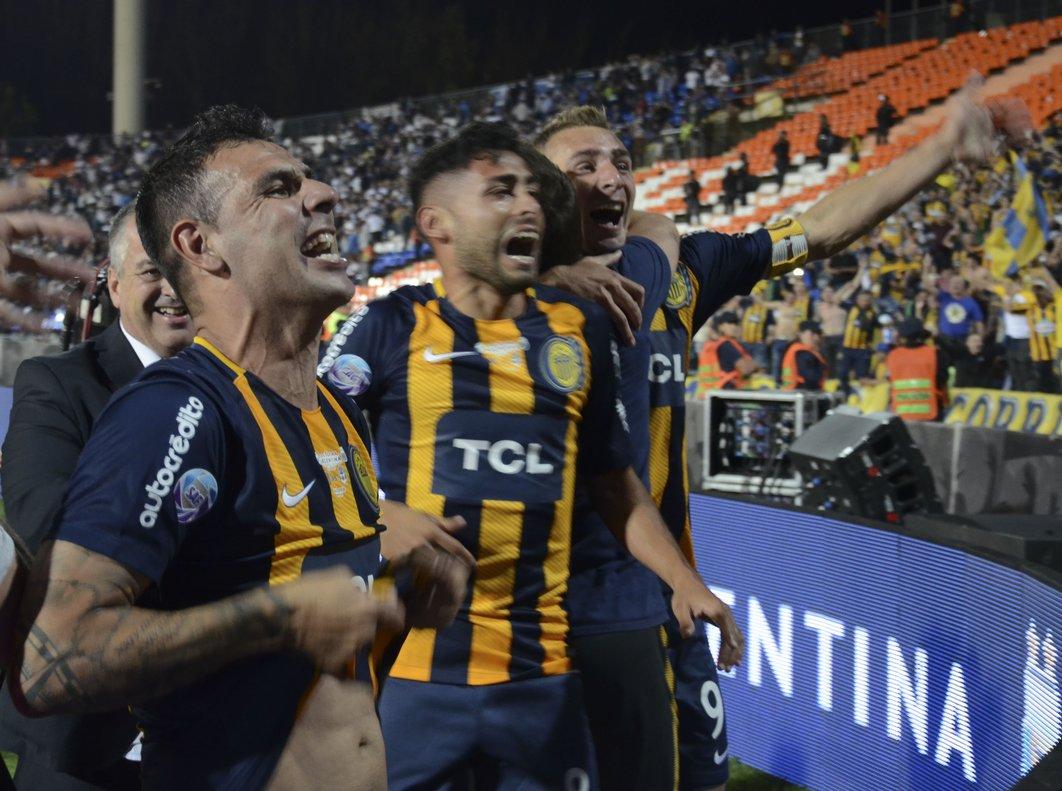 Rosario Centralcelebra este nuevo campeonato.