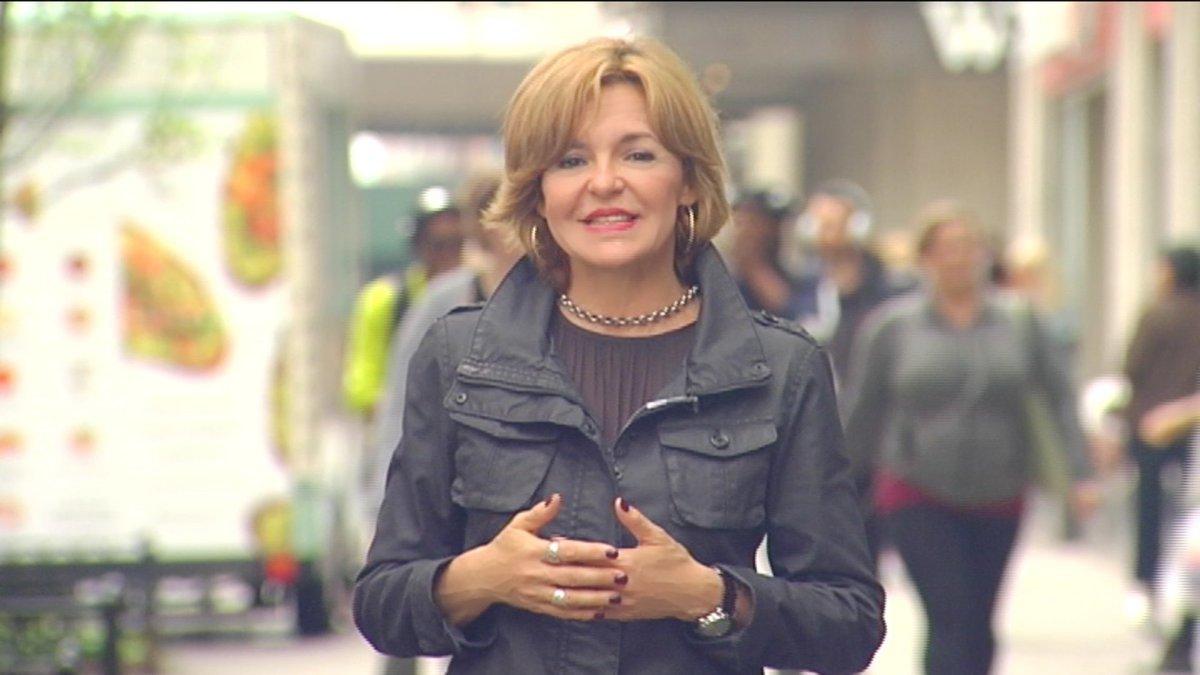 Almudena Ariza, nueva corresponsal de TVE en París.
